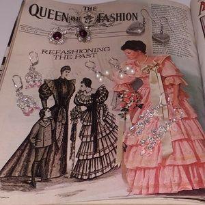 Jewelry - 'Queen of Fashion' Earrings Jewelry Lot